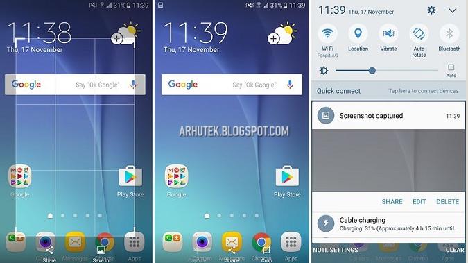 Cara Screenshot di Semua Merek Android