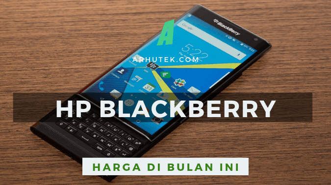 daftar harga hp blackberry