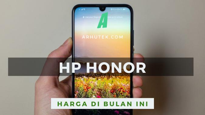 daftar harga hp honor