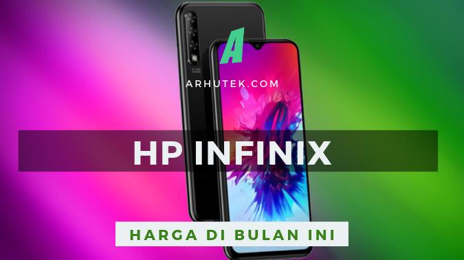 daftar harga hp infinix