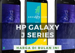 daftar harga hp samsung galaxy j series