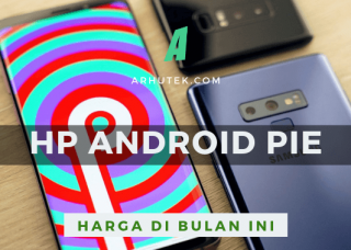 daftar hp android pie