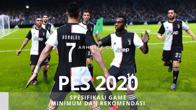 spesifikasi efootball pes 2020
