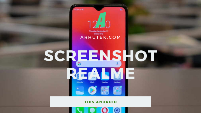 cara screenshot panjang di hp realme