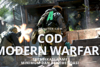 spesifikasi call of duty modern warfare