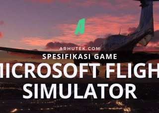 spesifikasi microsoft flight simulator