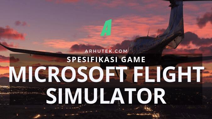 spesifikasi microsoft flight simulator