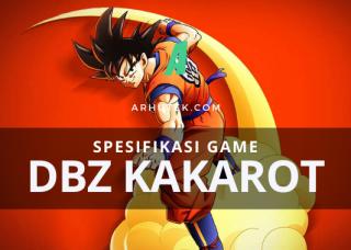 Spesifikasi Dragon Ball Z Kakarot